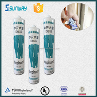 Weatherproof silicone sealant for outdoor window frame