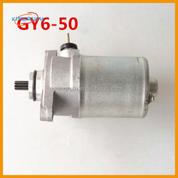 Motorcycle gy6 50 139QMB scooter starter motor parts