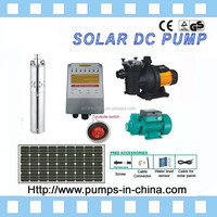 solar water pump system / water solar panel / solar powered pumps / 24V, 36V, 48V, 72V, 216V, 288V