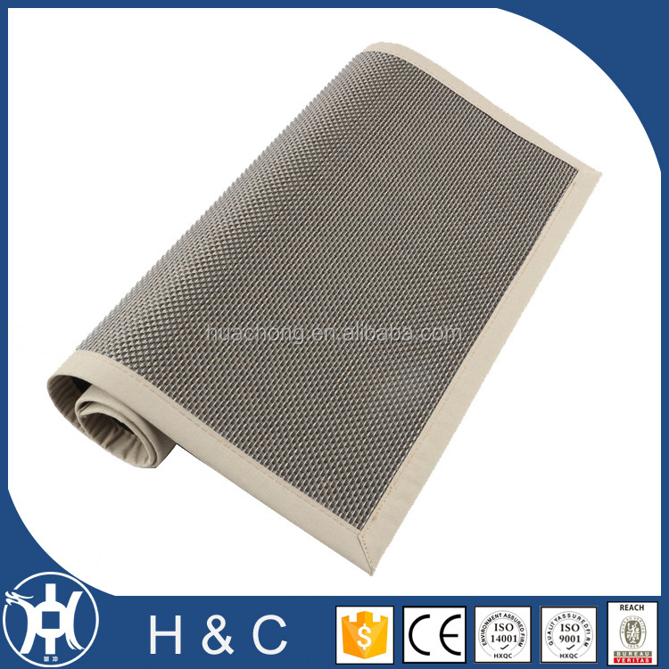 Adhesive-Protective pvc edge chestnut room carpet for hotel drawing room