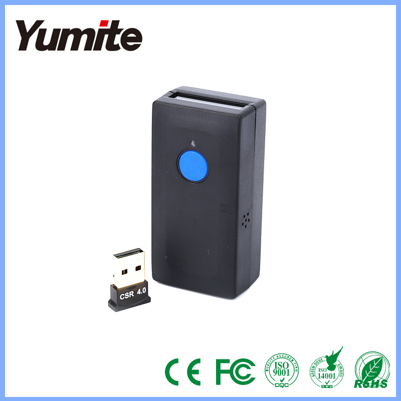 Mini portable wireless bluetooth barcode scanner