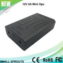 12v 24W mini small size dc ups for modem/router
