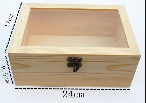 high quality new products fancy wood tea packing box