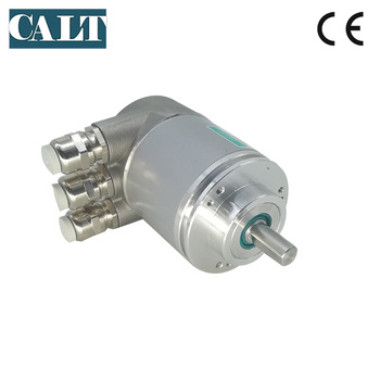 10mm solid shaft 12 bits 4096 ppr Absolute Rotary Encoder PROFIBUS-DP