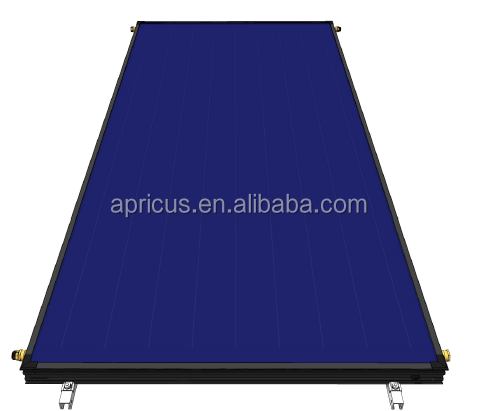 Apricus flat plate panel solar collector prices solar water heater