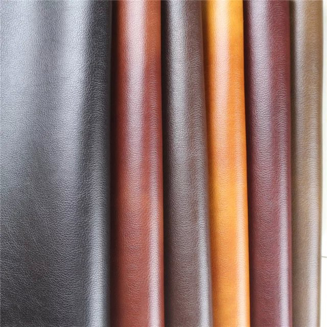 PU Synthetic Artificial Textile Bonded Leather Fabric for Sofa,Furniture wholesale