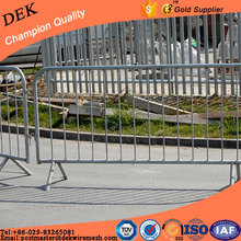 Removable Road Crowd Control Steel Barricades For Sale