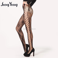 2016 side hollow design seamless pantyhose with free sample