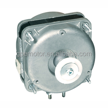 Unit Bearing Shaded Pole Ecm Motor For Supermarket Freezer