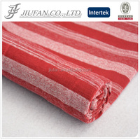 Jiufan Textile baseball jersey and rugby jersey cotton poly fabric