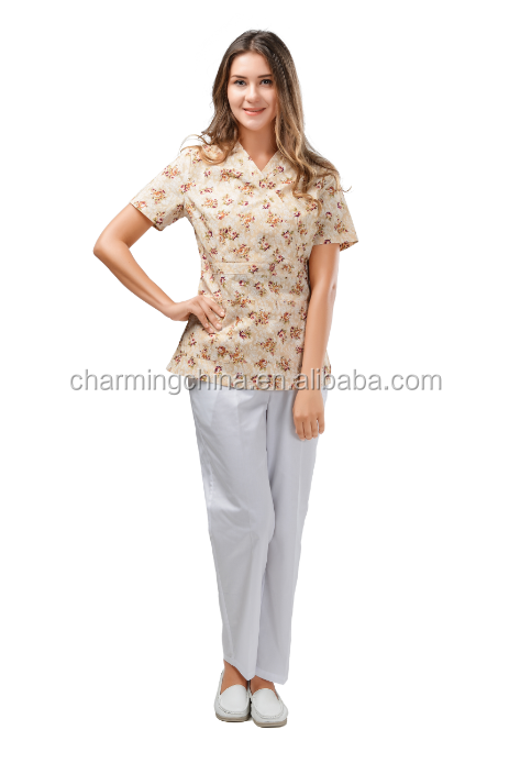 medical uniform set wholesale nurse scrubs
