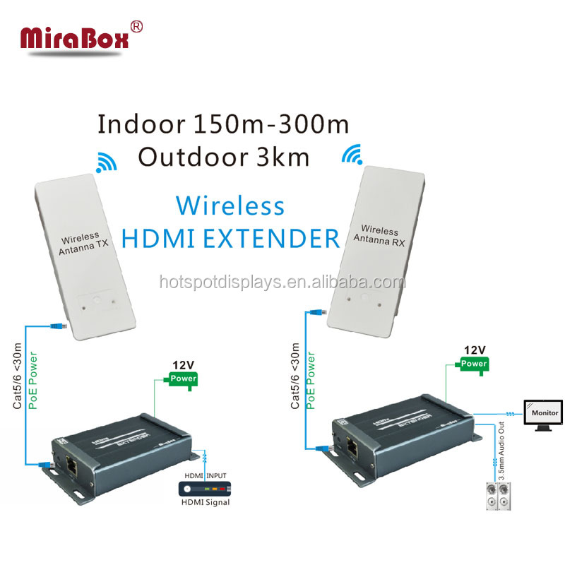 hdmi extender lkv373 wireless hdmi 100m