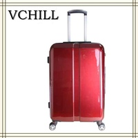 embossed luggage pc trolley luggage
