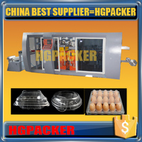 HGMF-600A China hot sale produce different size food container plastic making machine