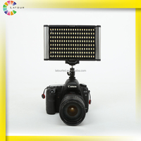 Newest unique CRI95 photographic lighting kit 30W battery powered mini studio led light with hot shoe ball mount