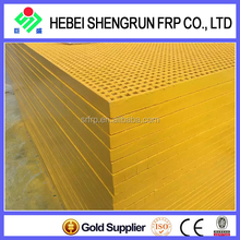 Calorific Property Molded Fiberglass Flat Sheet For Walking Platform