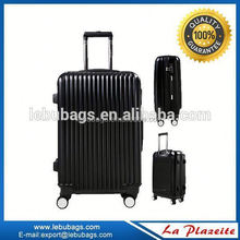 New unique fashional aluminum pc trolley luggage case