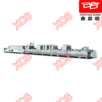 1050FCN High speed Automatic Crash lock Bottom Folder Gluer Machine (carton box folder gluer)