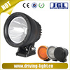 Round black alluminum alloy case 25W 12v 24v aluminum housing automotive lamp for truck tractor