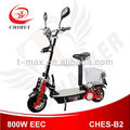 Folding 800W EEC approvedelectric scooter for adults