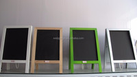 Wood Material chalkboard with A-stand