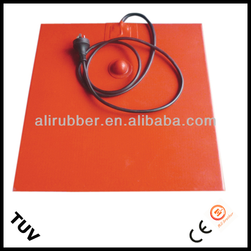 100*150mm 120W@110V Univeral Silicone Heating Pad/Mat, Oil Pan Heater