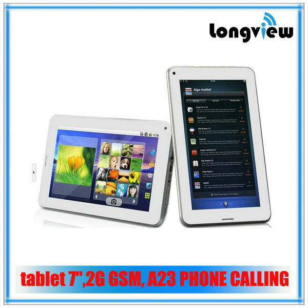 Hot ! 7 inch dual core cheap tablet phone gsm phone call android tablet