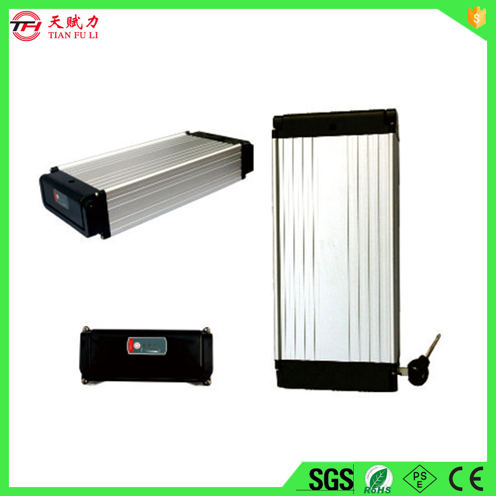top classic aluminum cased electric bicycle battery with best quality