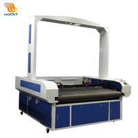 Vision Identity CCD Camera Co2 Laser Cutting Machine for Garment Texitile/Sublimated Printed Fabric/Various Soft Fabric