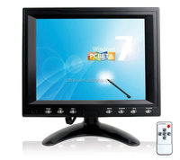 Factory price wholesales Touchscreen 16:9 8 Inch car lcd monitor with hdmi input