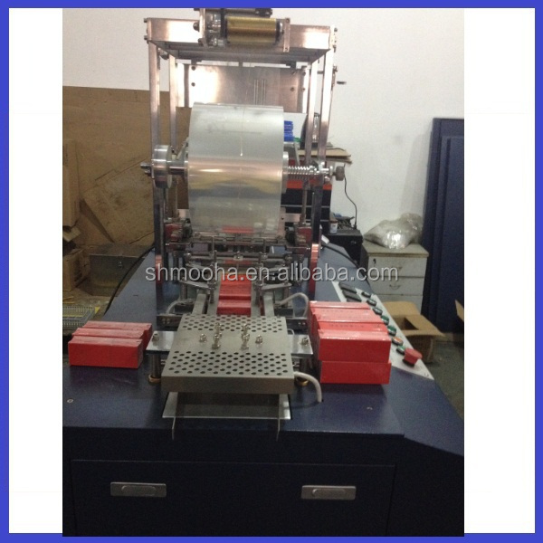 Sweets box wrapping macine/cellophane packaging machine