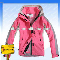 JHDM-12 women's 2013 snowboard polyester jacket, women multifunctional outdoor jackets