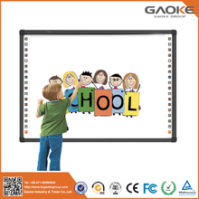 Most popular school supplies aluminium 40 interactive multi finger touch cheap smart board whiteboard for sale made in china