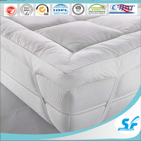 inflatable air mattress/goose down feather bamboo fabric mattress foam mattress protector