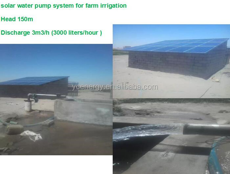 Argentina Solar Water Pump System Instead Of Fuel For Agricultural Irrigation