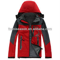 10000mm waterproof softshell jacket