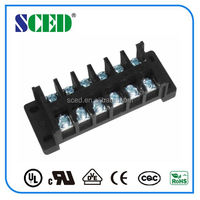 PCB screw terminal blcok PBT transformer terminal blocks 300V/20A