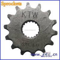 SCL-2013010744 Used For SUZUKI 125 Motorcycle Roller Chain Sprocket