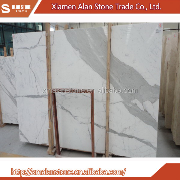 China Wholesale Market Agents Statuario Venato Marble Slab