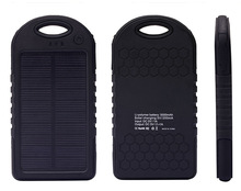 best price portable panel solar USB phone battery power bank charger