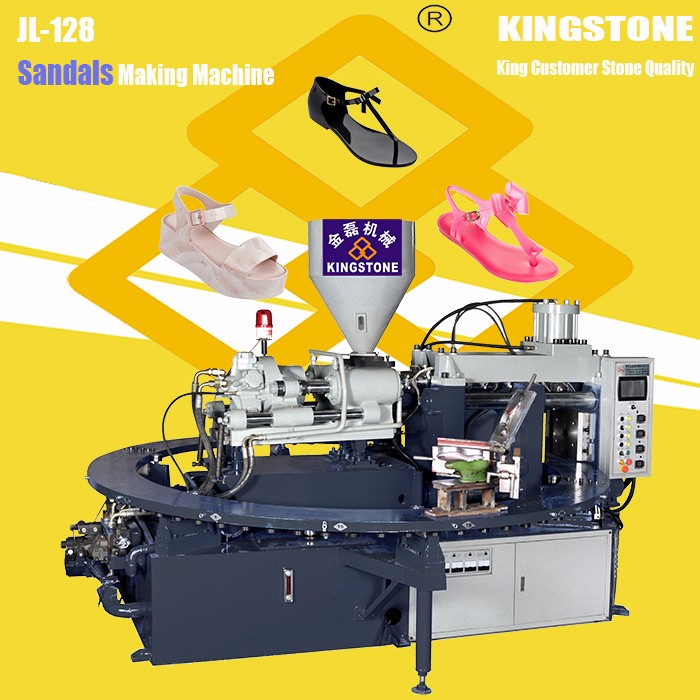 JL-128 Vertical Type Plastic Used Melissa Shoe Making Machinery