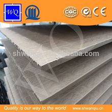 WQ Brand Wood Fiber Material Embossed Faced MDF 8-18mm Thickness
