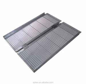 2'-6' Aluminum wheelchair ramps portable folding car access ramp