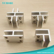Different model glass connector corner clips fixing fittings clamp