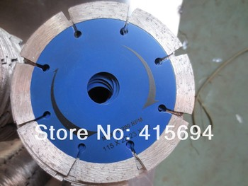 115x12x22.23mm cold press segment diamond saw blade for bricks, granite,marble and concrete.