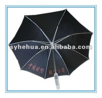 straight FRP frame umbrela/windproof umbrella /promotional umbrella