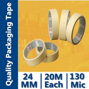 waterproof hotmelt white/yellowish masking tape