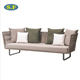 Patio outdoor garden rattan wicker sofa set