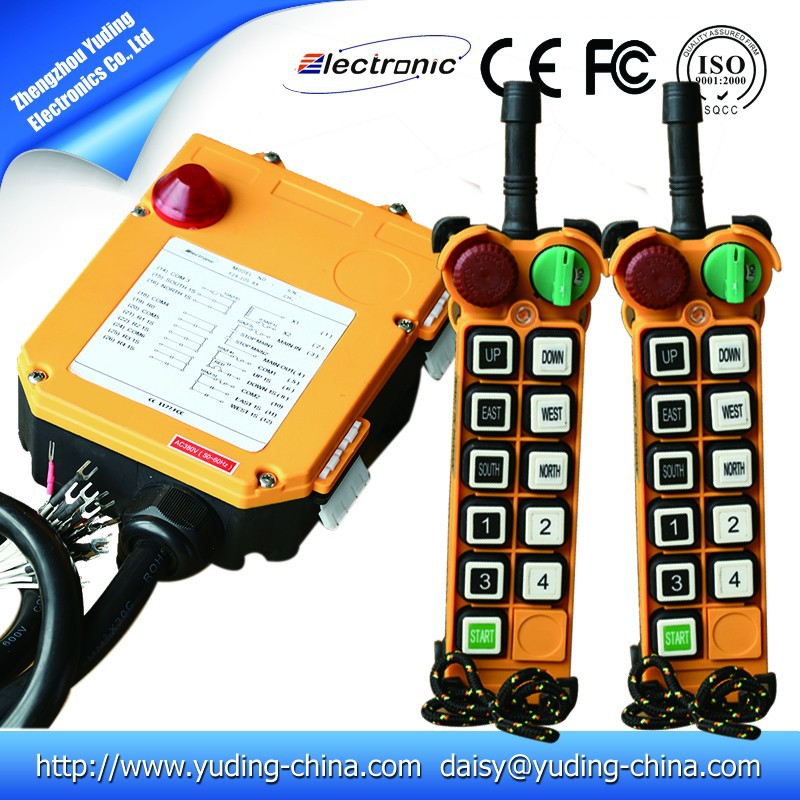 F24-10D-2TX industrial wireless remote contro with two transmitters