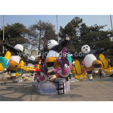 New amusement kungfu panda rides,amusement park rotation ride for sale